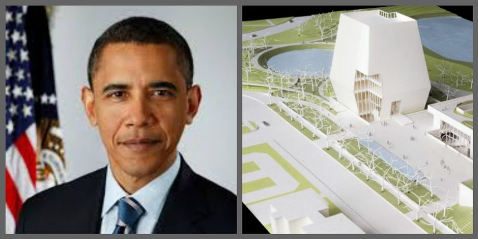 Here's What Obama's $500M Presidential Center Will Look Like