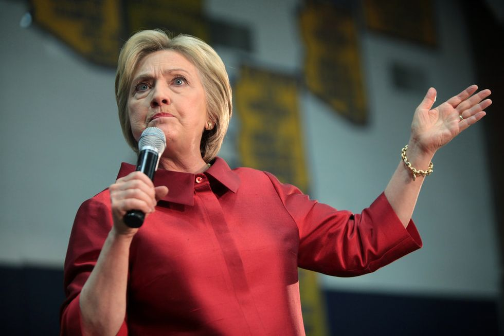 Hillary Clinton Gets Sassy In A Tweet About The New French President