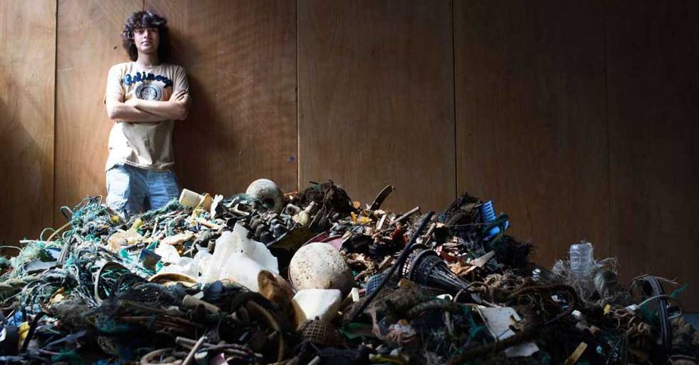 A 22-Year-Old's Ingenious Effort To Remove Plastic Waste From The Pacific Has Raised $31M