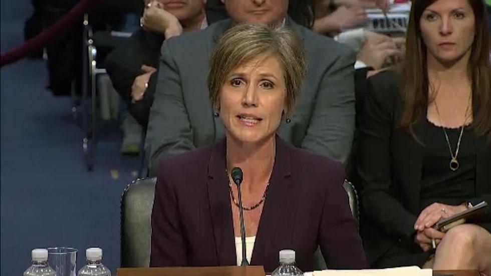 Sally Yates' Testimony Highlights The MansplainingEpidemic In Congress