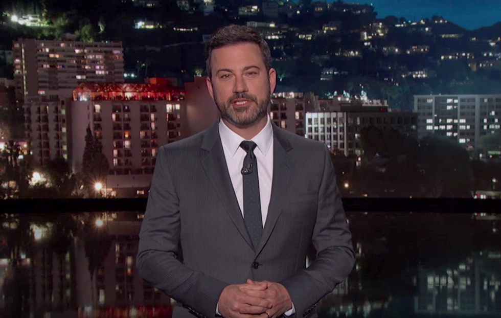 Jimmy Kimmel Apologizes For Daring To Say All Children Should Have Health Care