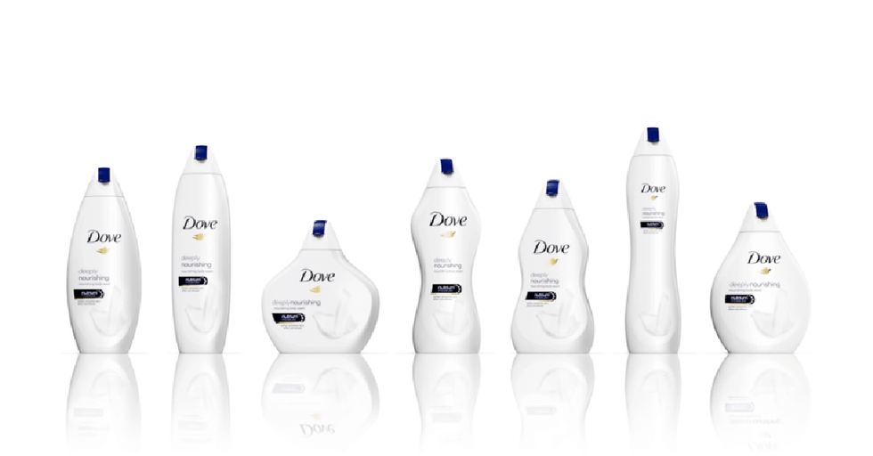 Dove Used A Very Weird Gimmick To Celebrate Body Diversity, Leaving Everyone Very Confused