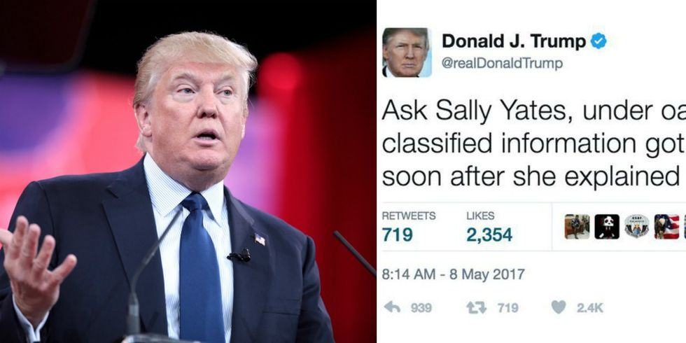 Merriam-Webster Schooled Donald Trump When He Tried To Criticize Sally Yates