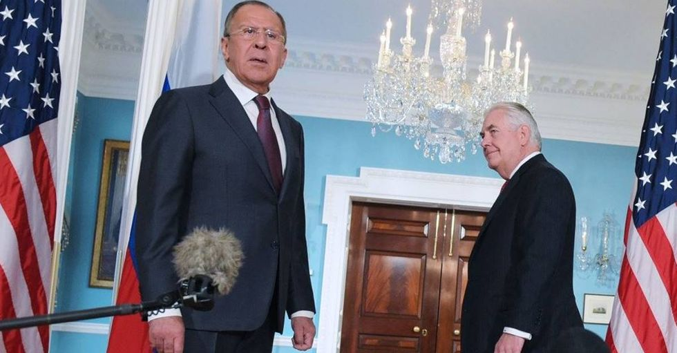 Russian Foreign Minister Mocks American Reporter For Asking About Comey Firing