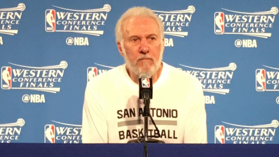 Spurs Coach Gregg Popovich Slams Trump For Running Country Like A Game Show