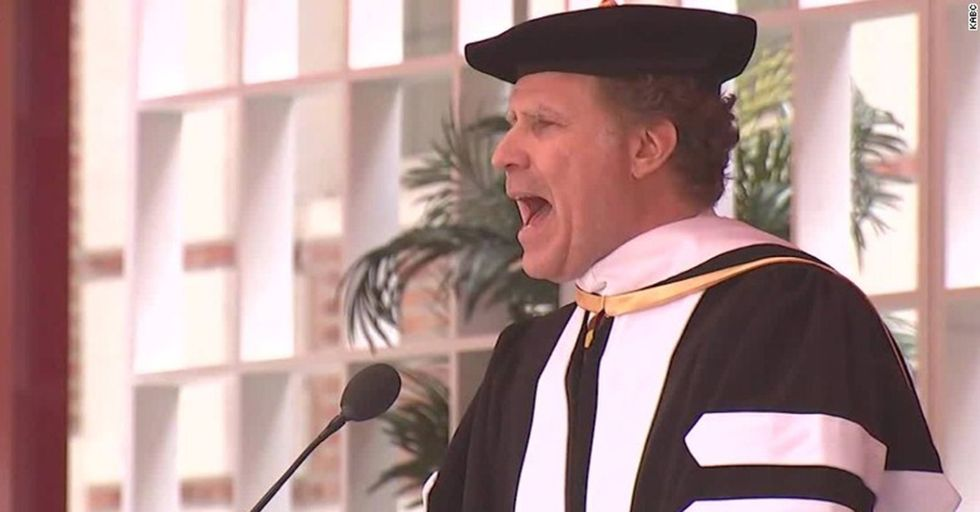7 Funny And Inspirational Highlights From Will Ferrell's Already Famous USC Graduation Speech