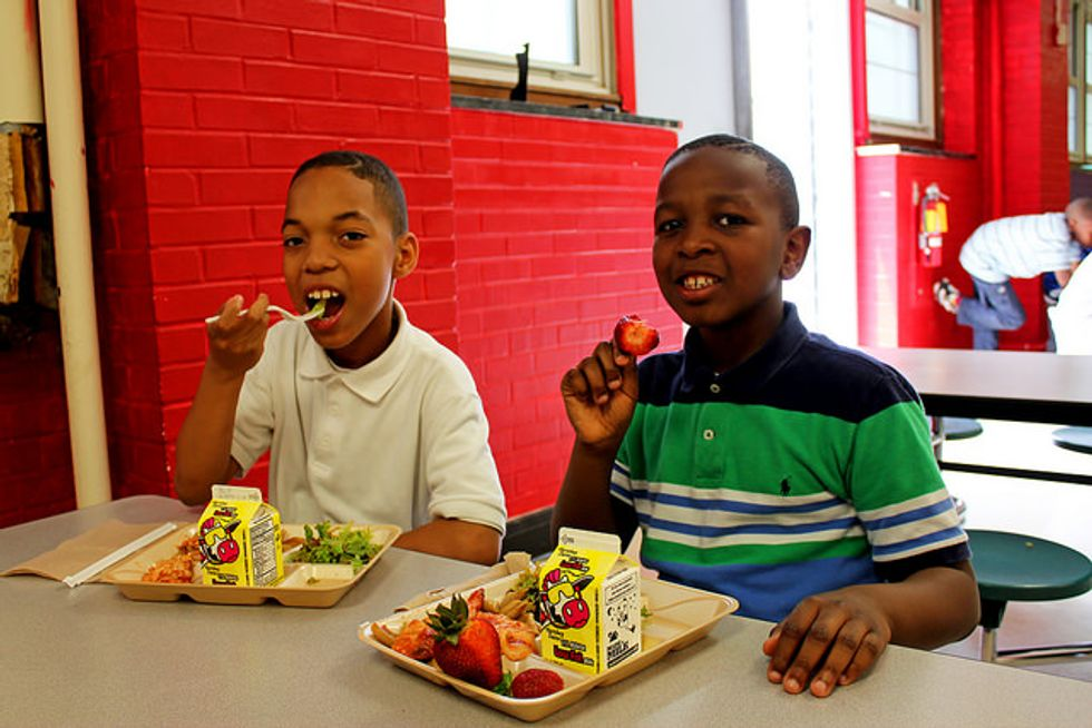 Fed Up Strangers Are Paying Off Students' 'Lunch Debt'