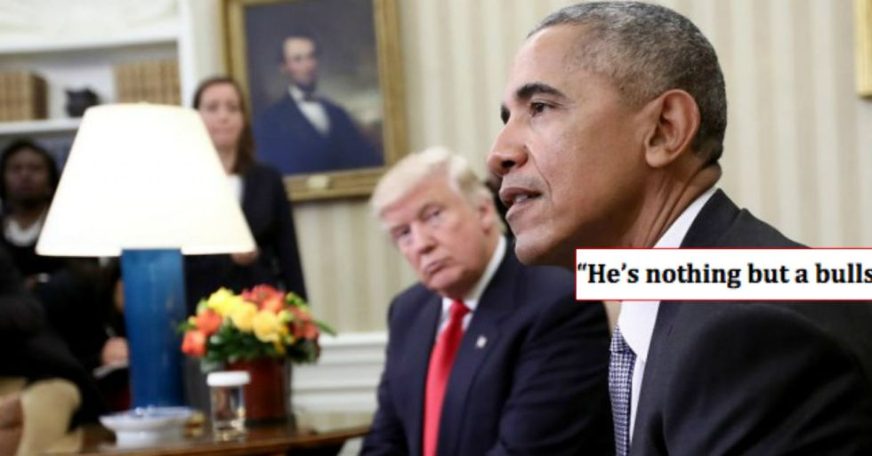 Obama Brutally Reveals To The World What He Really Thinks About Trump