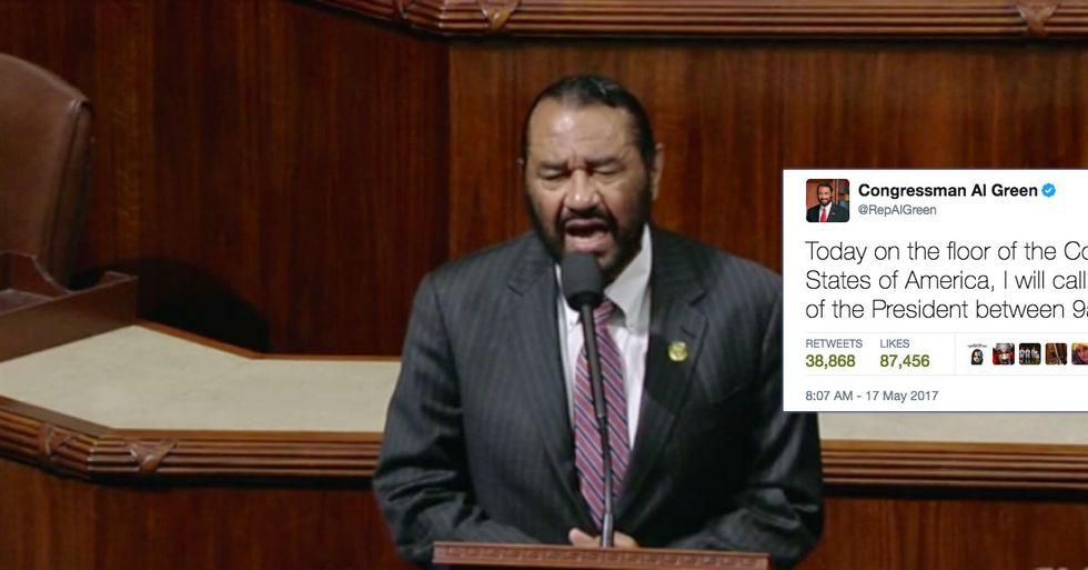 Congressman Calls For Trump's Impeachment On House Floor