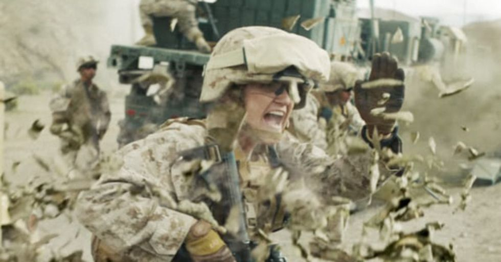 The Marines Just Unveiled Its First Ever Female-Led Recruitment Video And It Is Tough