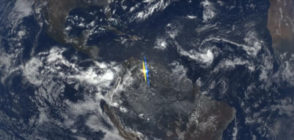 NASA Figures Out Earth's Weird Flashing Light Phenomenon