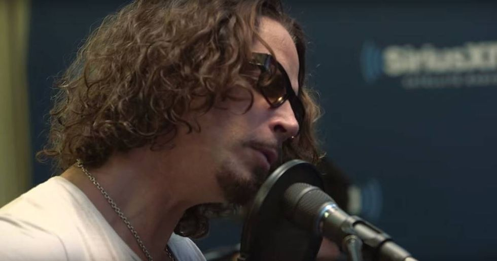 Chris Cornell's Passionate Performance Of Prince's 'Nothing Compares 2 U'