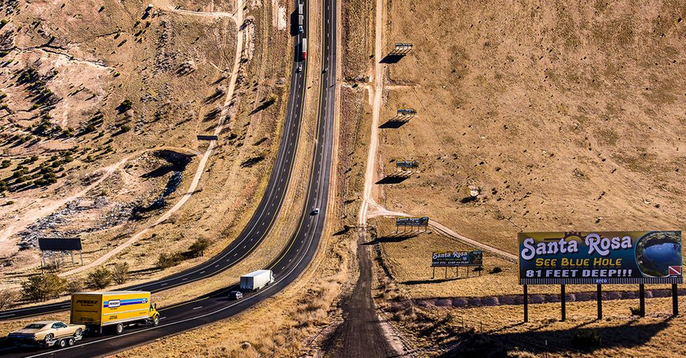 Using Google Maps And A Drone, This Artist Offers A Surreal Look At American Landscapes