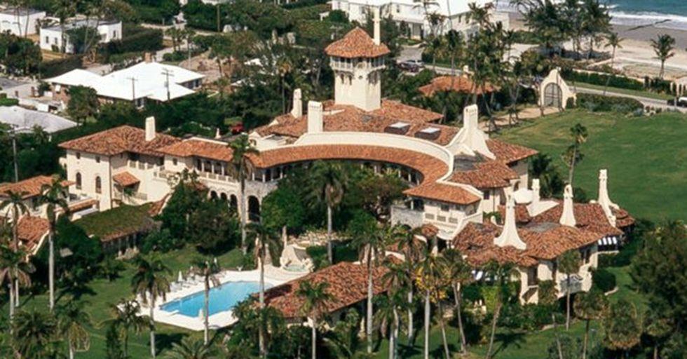 A Sinkhole Opened Up Next To Mar-A-Lago, Leading To Lots Of Interesting Theories And Metaphors