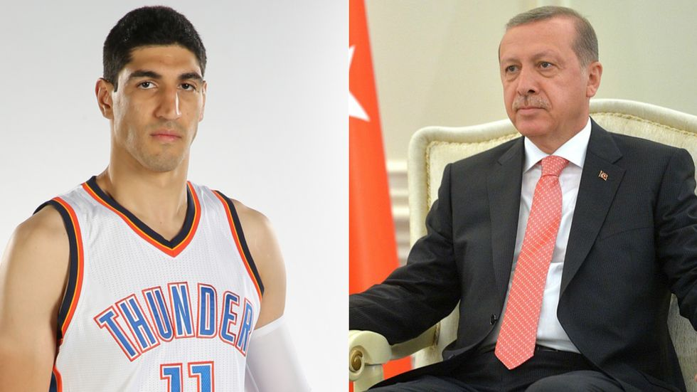 What Erdogan And The Turkish Government Are Doing To This NBA Star Is Chilling
