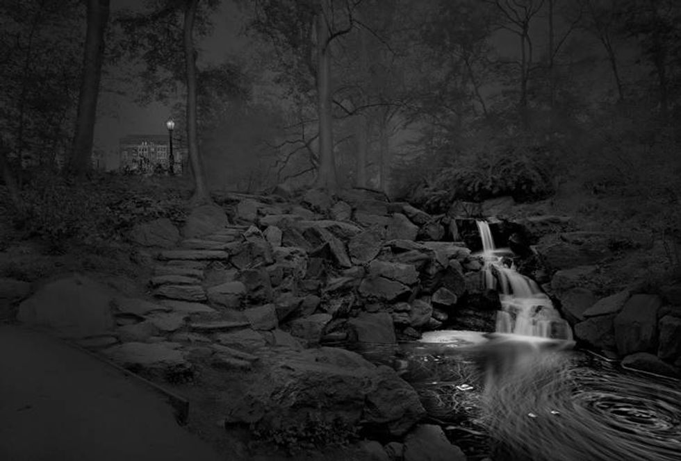 Insomniac Photographer Michael Massaia's Haunting Images Of Central Park