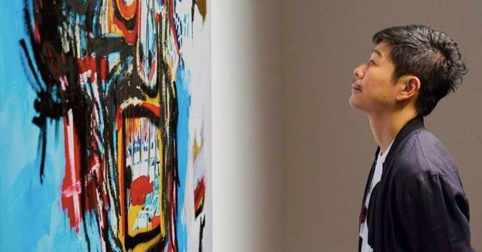 Basquiat's 'Untitled' Breaks Record At Auction