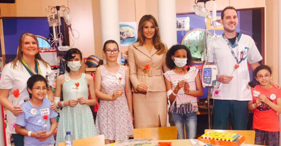 First Lady Angers AHCA Opponents With Tweets From Recent Hospital Visits