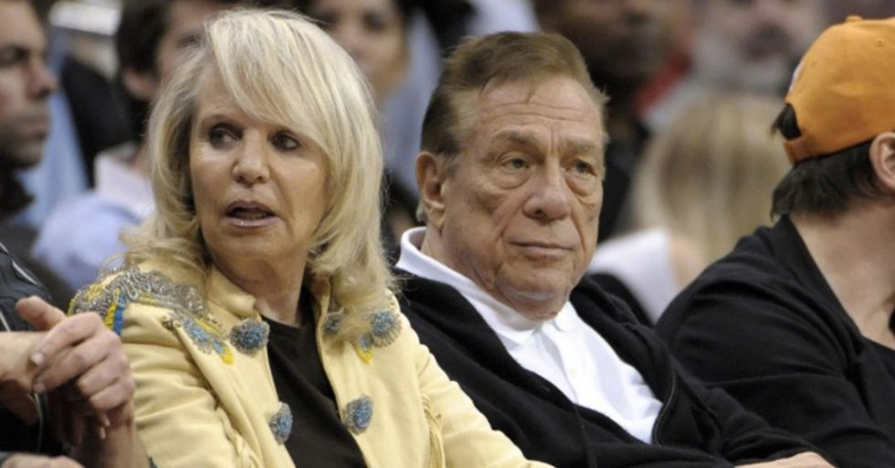 Donald Sterling's Wife Petitions The NBA To Lift Her Husband's Lifetime Ban