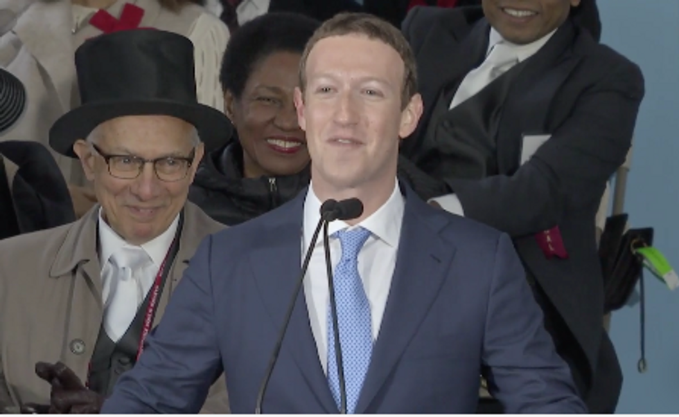 Mark Zuckerberg's Harvard Commencement Speech Reveals What He Cares About Most