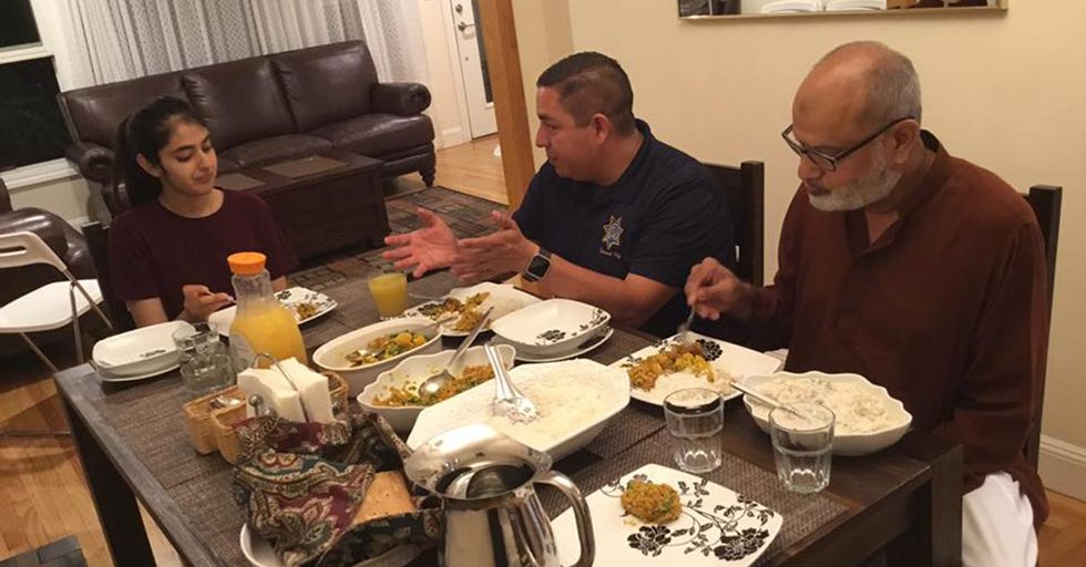 Inviting Strangers To Her Home, A Muslim Teenager Is Fighting Intolerance With Dinner Parties