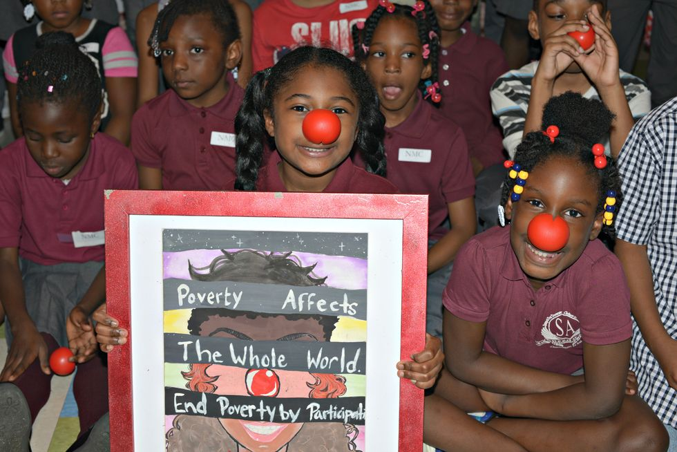 This Low-Income School Went All Out To Raise Money For Red Nose Day