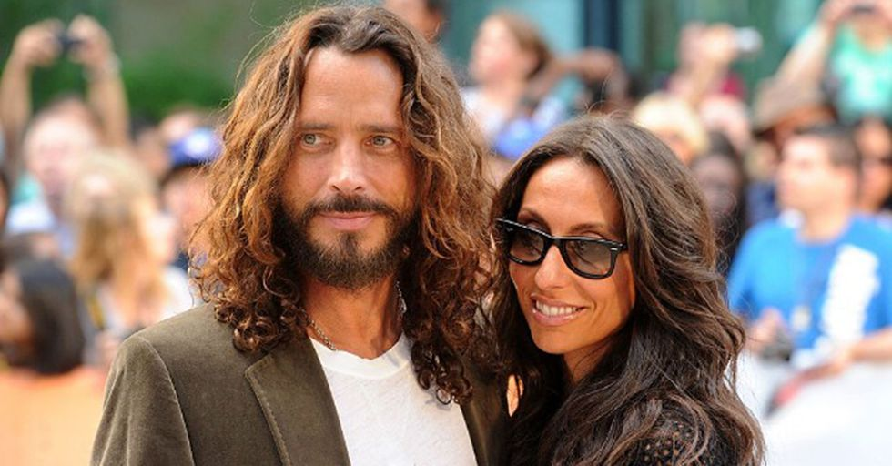 Chris Cornell's Widow Shared An Emotional A Tribute To Her 'Soulmate'