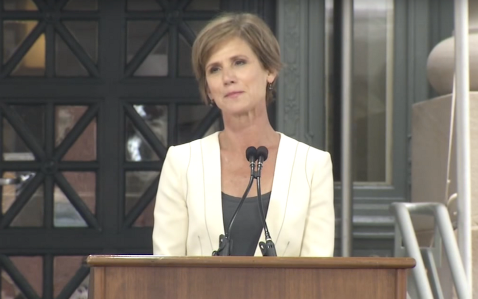 Sally Yates Put It All Out There In A Harvard Graduation Speech