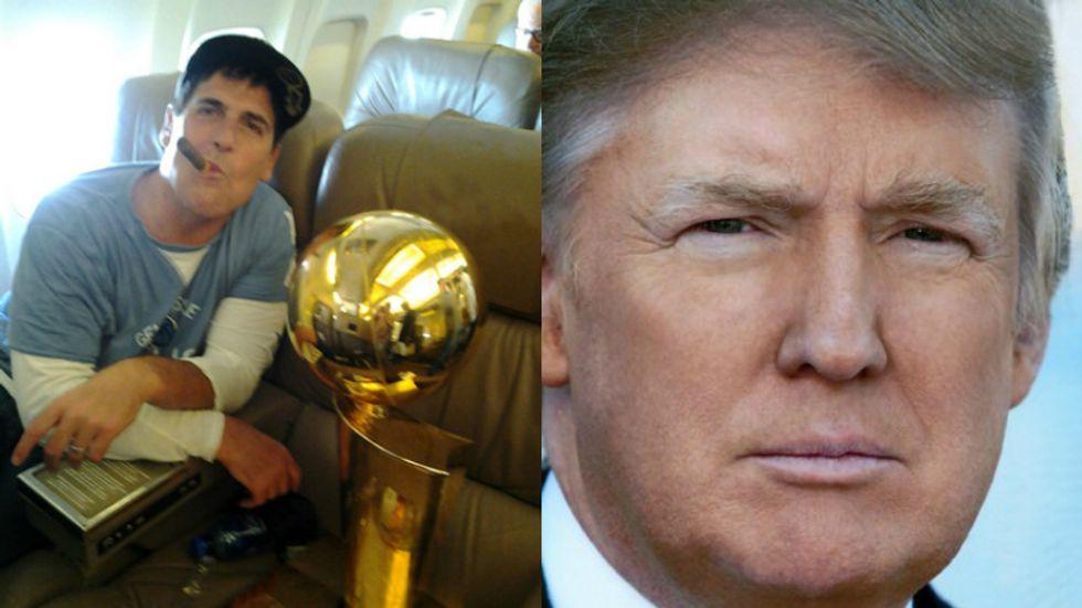 Mark Cuban Thinks Trump Needs To Learn How To Take Advice