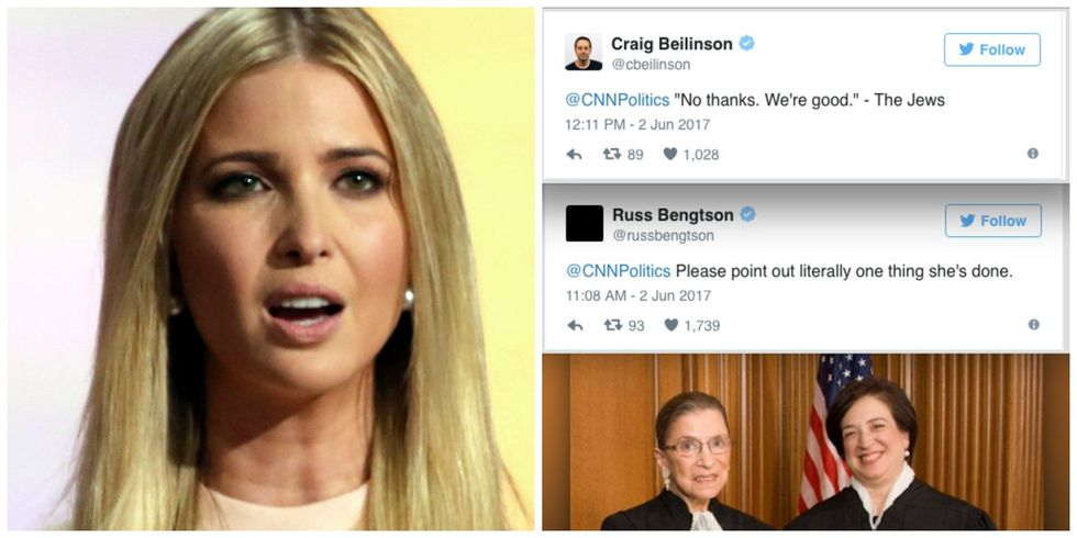 CNN Called Ivanka Trump 'America's Most Powerful Jewish Woman,' And Here's How Twitter Responded