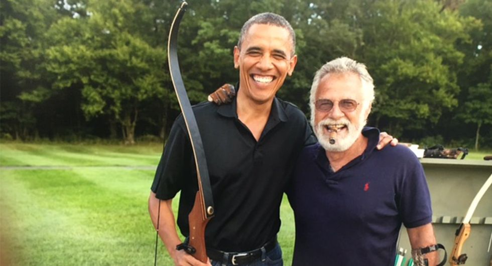How Obama And 'The World's Most Interesting Man' Have Quietly Become The Best Of Friends