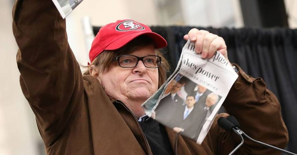 Michael Moore's New Website Gives Whistleblowers A Safe Way To Report Trump's Misconduct
