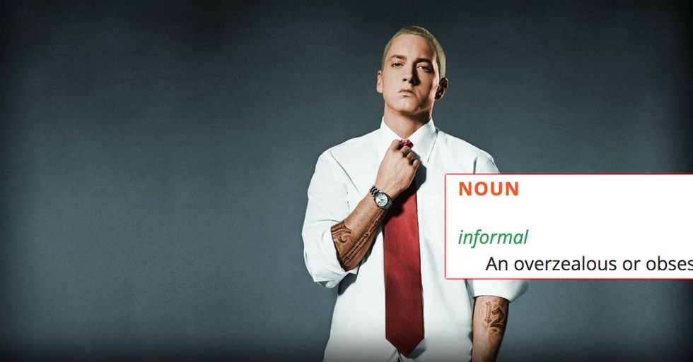 Oxford Dictionary Turns Classic Eminem Song Into New Word