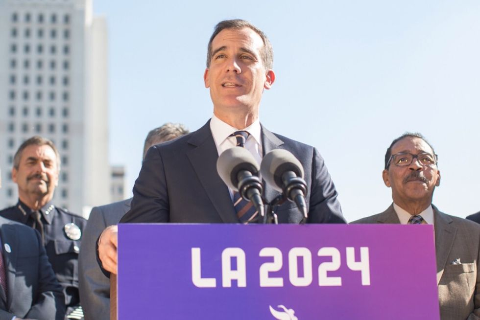 LA's Mayor Has A Brilliant Idea To Land The Olympics And Fund Youth Sports At The Same Time