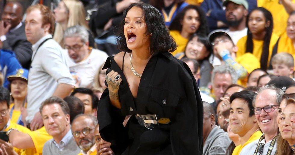 Rihanna Was The Real Star Of NBA Finals Game 1