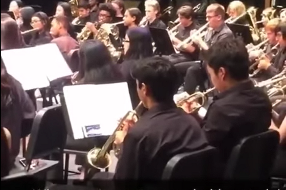 Watch This Band Kid Go To Great Lengths Not To Miss The NBA Finals