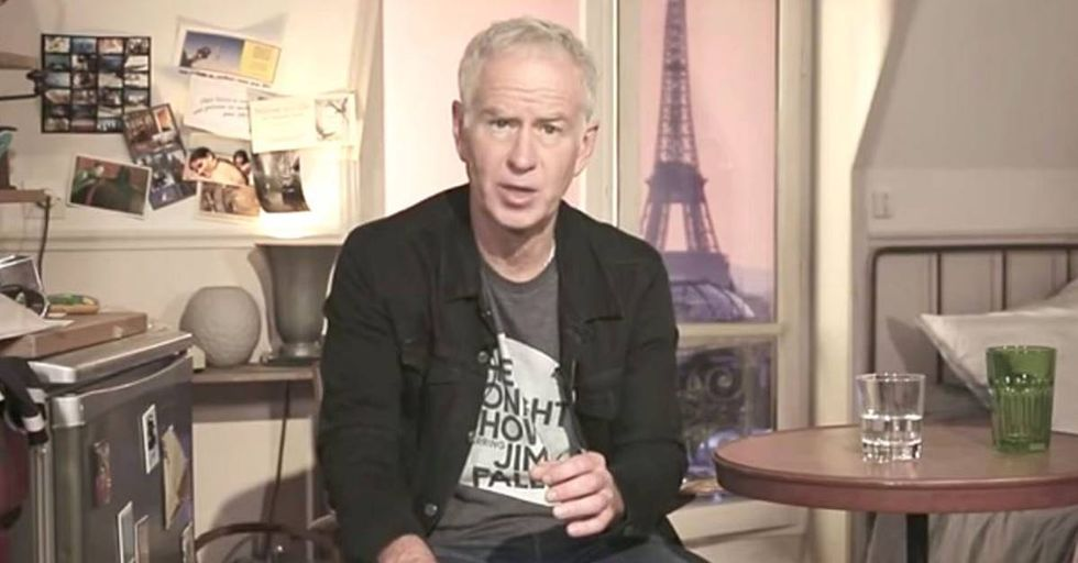 John McEnroe's Hilarious Solution To The Margaret Court Controversy