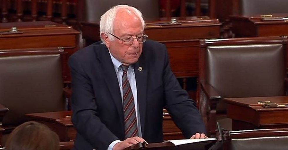 Bernie Sanders Condemns The Virginia Shootings