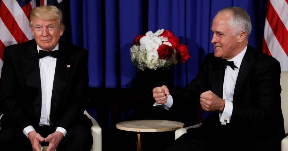 Leaked Video Shows Australia's Prime Minister Roasting Donald Trump