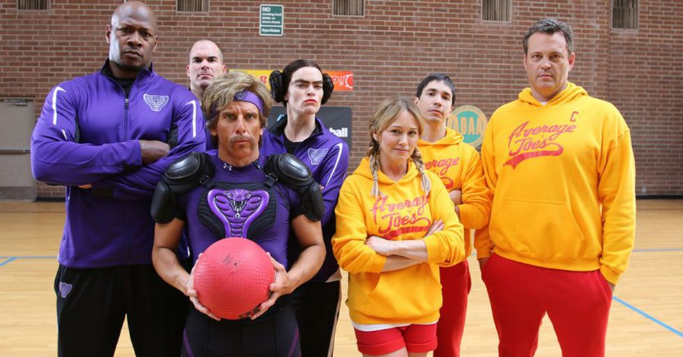 The Cast Of 'Dodgeball' Reunite For A Rematch To Benefit A Great Cause