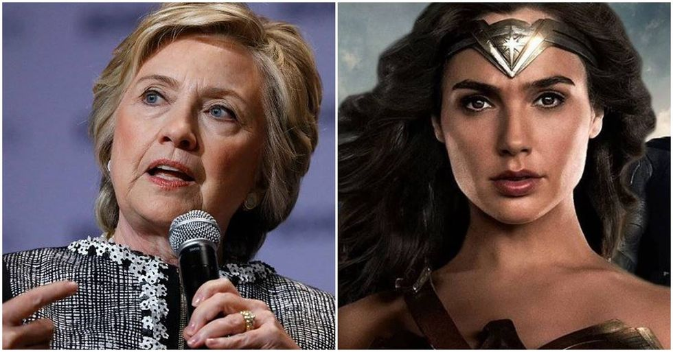 Hillary Clinton Compares Herself To 'Wonder Woman' At The Women In Film's Crystal + Lucy Awards