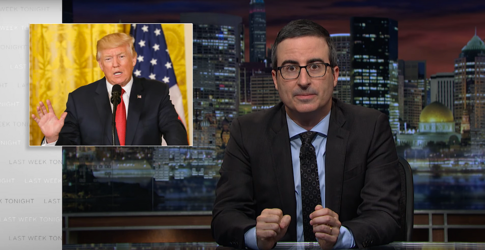 John Oliver Breaks Down Why Coal Is Not Going To Happen