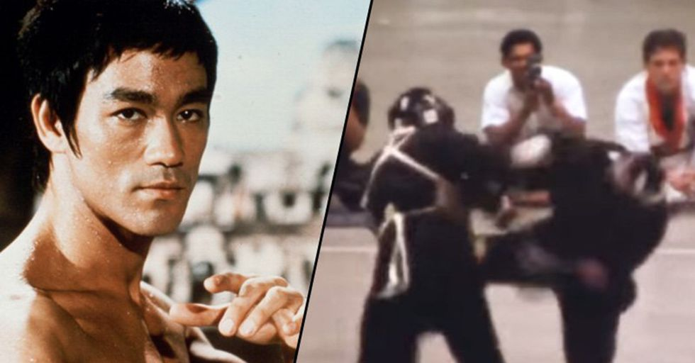 A Recently Discovered Video Reveals Bruce Lee's Superhuman Martial Arts Skills In Action