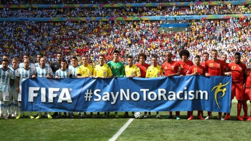 FIFA Will Allow Referees To End Matches Threatened By Racial Tension
