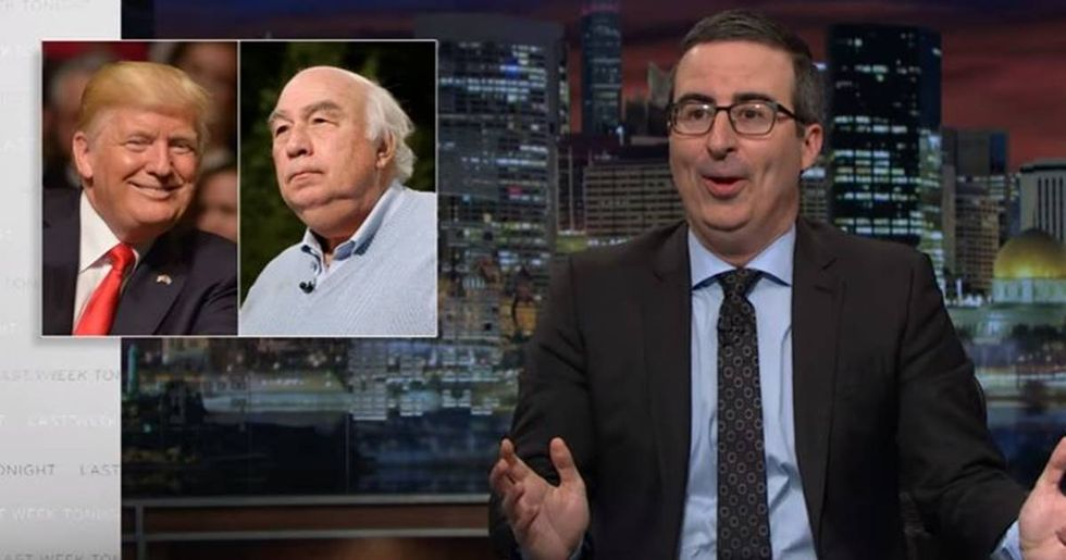 John Oliver And HBO Sued By Coal Tycoon Robert E. Murray