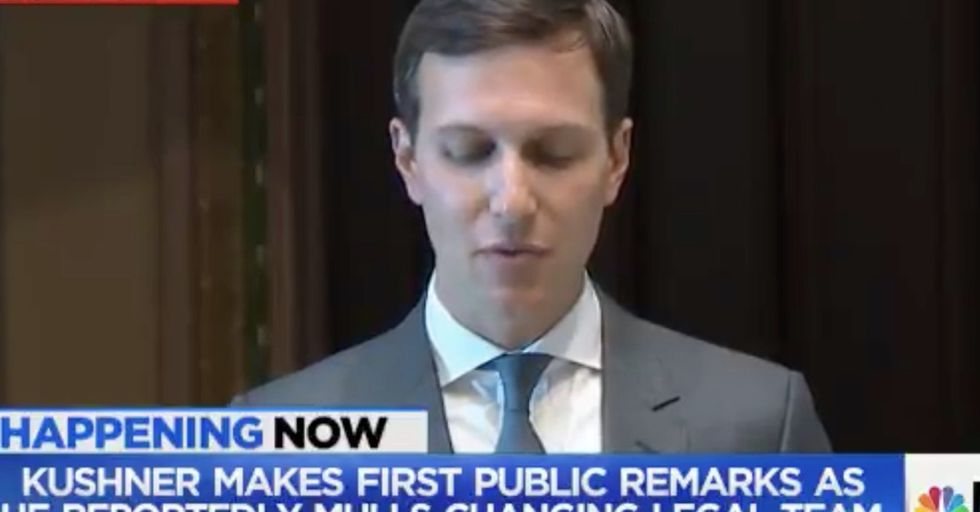 If You, Like Most Of America, Have Never Heard Jared Kushner Speak, Here's Your Chance