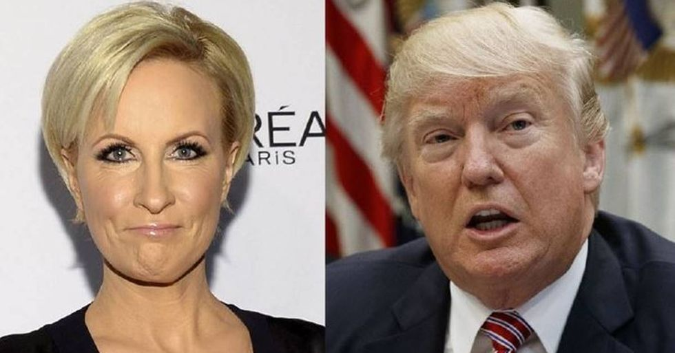 President Trump Criticized For His Sexist Attack On MSNBC's Mika Brzezinski
