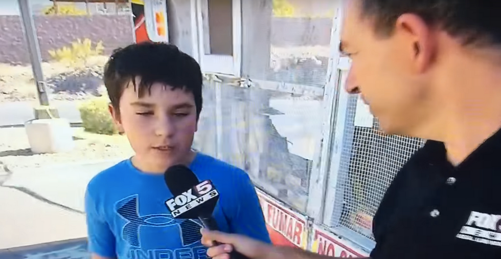 Watch This Fox News Reporter Get Destroyed By A Snarky Kid