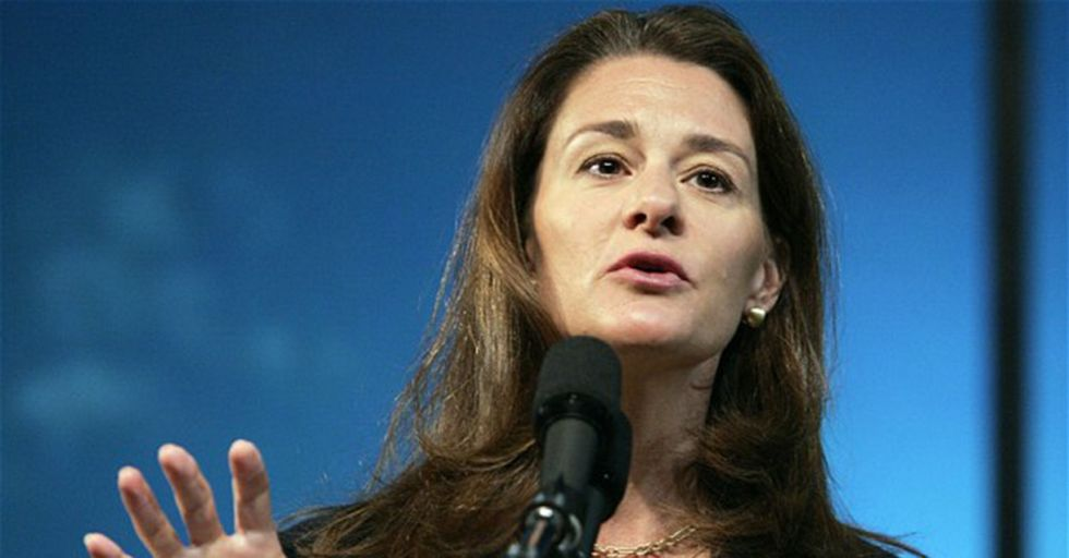 Melinda Gates Tells Trump His Plan To Cut Foreign Aid Is Dangerous