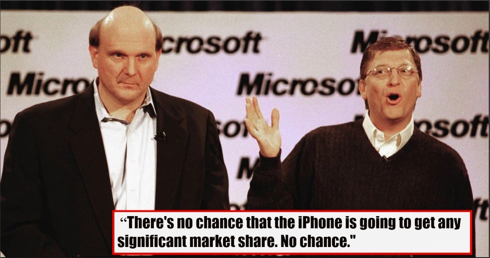 10 Years Ago, Some Famous Experts And Execs Were Certain The First iPhone Would Fail